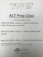 ACT Prep Workshop